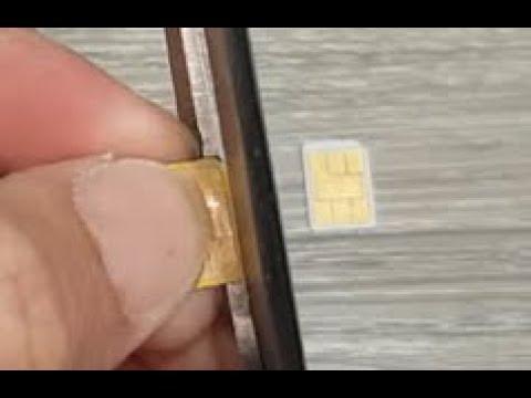 Samsung Galaxy S9 Plus: How To Cut SIM Card Down To Nano Size