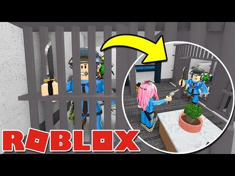 Roblox ITA - MURDER Nella Stazione di POLIZIA! - W/Lyon