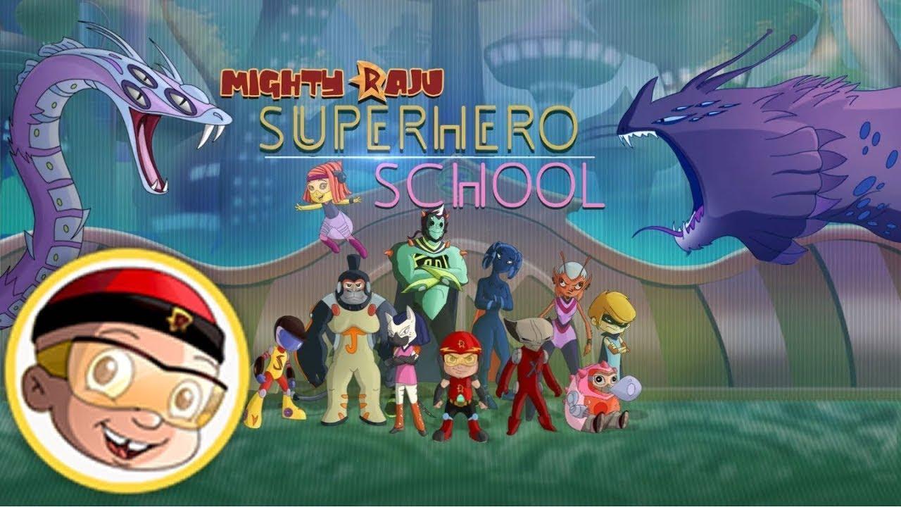 3068fcd8dd Mighty Raju - Super Hero School - YouTube