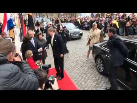 Königin Maxima und König Willem Alexander besuchen Wittenberg