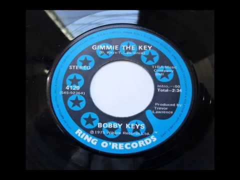 Bobby Keys Gimmie the Key 1975 Ring O Records 45 rpm