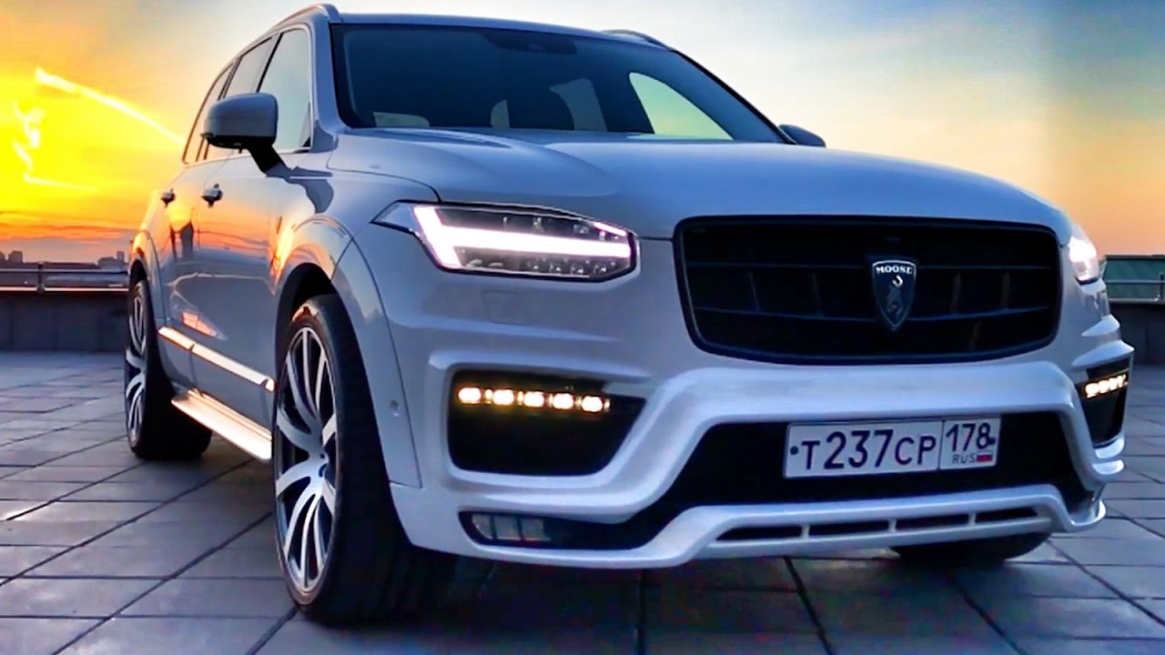 VOLVO XC90 - MOOSE DESIGN! Tuning - bodykit & wheels - YouTube