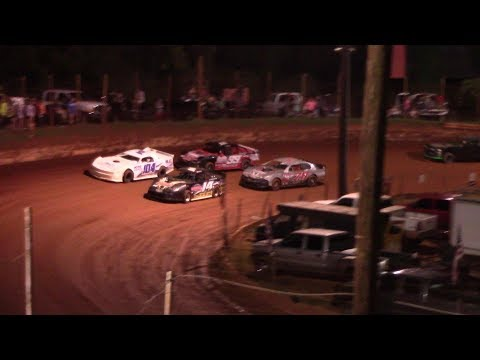 Modified Street. - dirt track racing video image