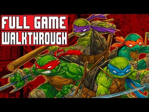 Teenage Mutant Ninja Turtles Mutants in Manhattan Gameplay Walkthrough Part 1 FULL GAME