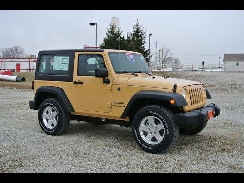 2014 jeep wrangler sport dune clearcoat for sale dealer dayton troy piqua sidney ohio 26936t. Black Bedroom Furniture Sets. Home Design Ideas