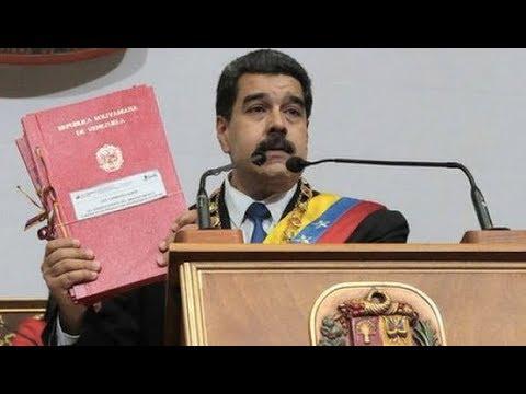 Venezuela's President Maduro Presents New Economic Measures