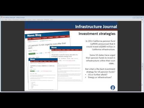 IJ Online Seminar: Institutional Investors and Infrastructure in the US
