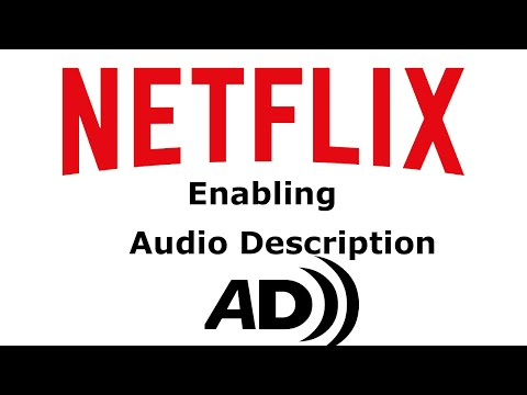 How to enable  Description on Netflix.