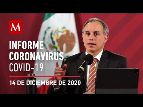 Informe Diario Por Coronavirus En México, 14 De Diciembre De 2020