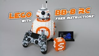 LEGO 75187 BB-8 UCS Full RC Mod with FREE INSTRUCTIONS!