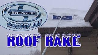 Roof Rake by Snow Joe (Roofer Joe)