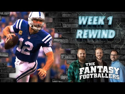 Fantasy Football 2016 - Studs & Duds, Rising Stars, MNF Preview - Ep. #262