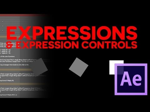 Expressions and Expression Linked Controls in After Effects - BASIC TUTORIAL