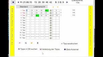 Lotto-Experte für EuroJackpot - Lottozahlen Vorhersage zur Erhöhung der Gewinnwahrscheinlichkeit