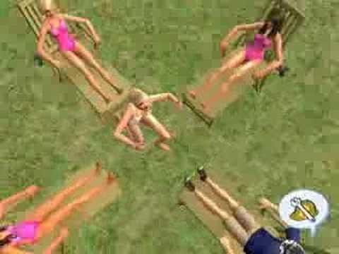 Fabulous - Sims 2 - High School Musical 2