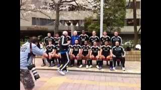 All Blacks 7s Harlem Shake with Gordon Tietjens and Keith Quinn in Tokyo, Japan!