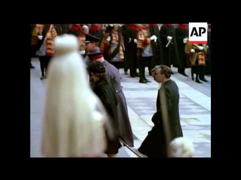 State Funeral Of Sir Winston Churchill - 1965