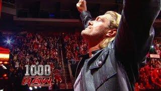 Edge retires - Raw