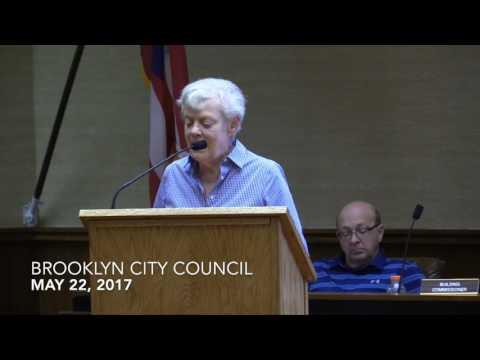 Brooklyn City Council Meeting 5/22/17