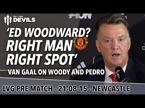 Manchester United vs Newcastle United - Van Gaal Presser - Premier League - 동영상