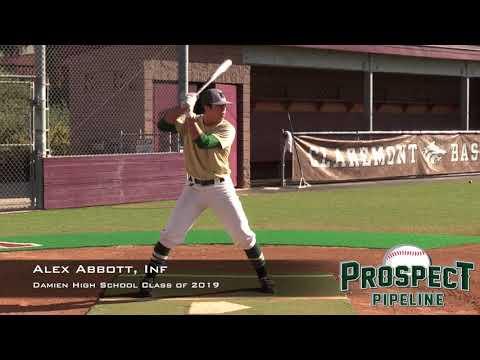 Alex Abbott Prospect Video, Inf, Damien High School Class of 2019