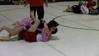 Jiu-Jitsu Girl Fights for Paul Thomas BJJ