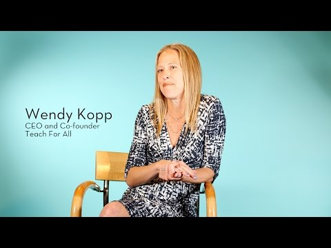 Getting millions to learn: Interview with Wendy Kopp of Teach For All