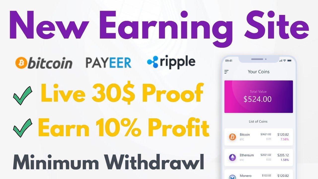 bitcoin earning app 2021