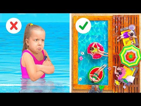 Летние лайфхаки с бассейном