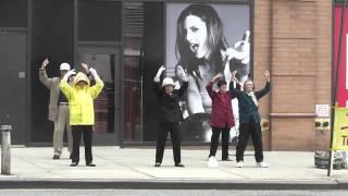 Falun Gong on 42nd Street Manhattan