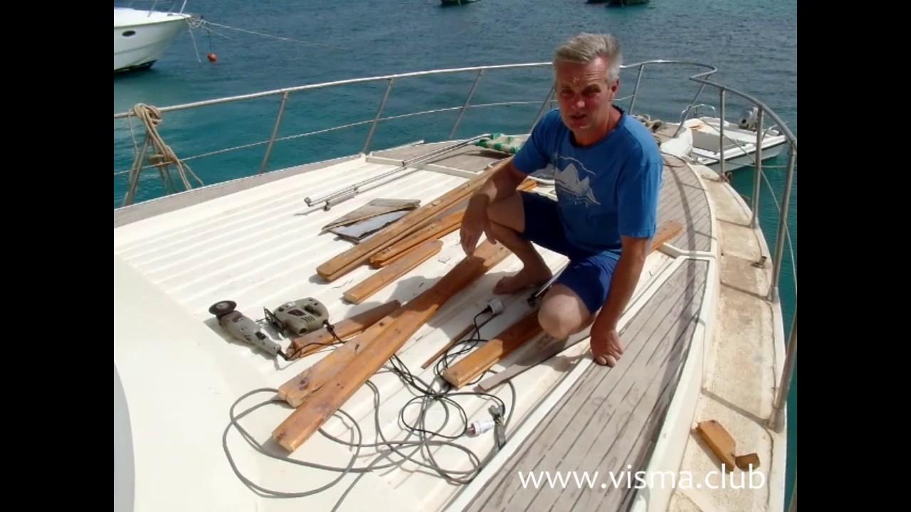 Трап своими руками для яхты