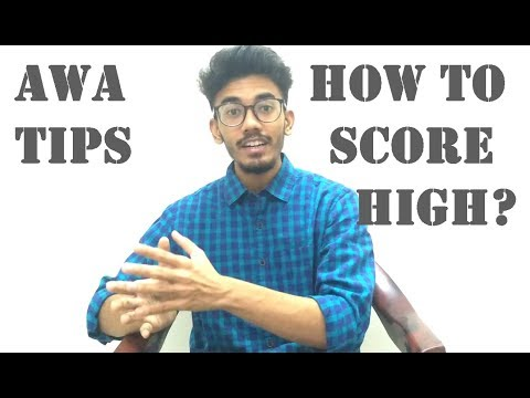How To Score High In GRE AWA | Tips To Crush AWA In GRE