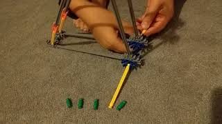 Simple Knex catapult