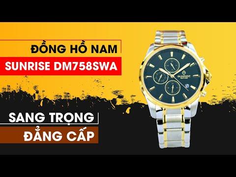 Đồng Hồ Nam Sunrise DM758SWA