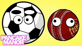 Sports Balls (uk Version) | Song For Kids | Pancake Manor