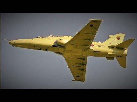 Brand New Aircraft! RAF Hawk ZB106 double Touch'n'Go@Bae Systems Warton Aerodrome