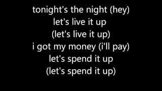 Black Eyed Peas - I Gotta Feeling Lyrics