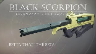 Destiny 2 - Black Scorpion - Quick Hitting Veist Scout Rifle - PVP Gameplay Review
