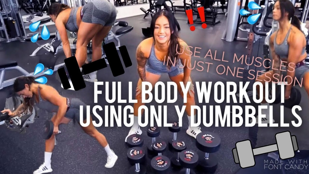 Download FULL BODY WORKOUT DUMBBELLS ONLY | ACTIVATE ALL YOUR MUSCLES IN ONE SESSION