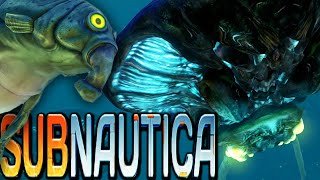 Subnautica | GIANT Sea Beasts! | Subnautica Early Access Gameplay (1080p HD)