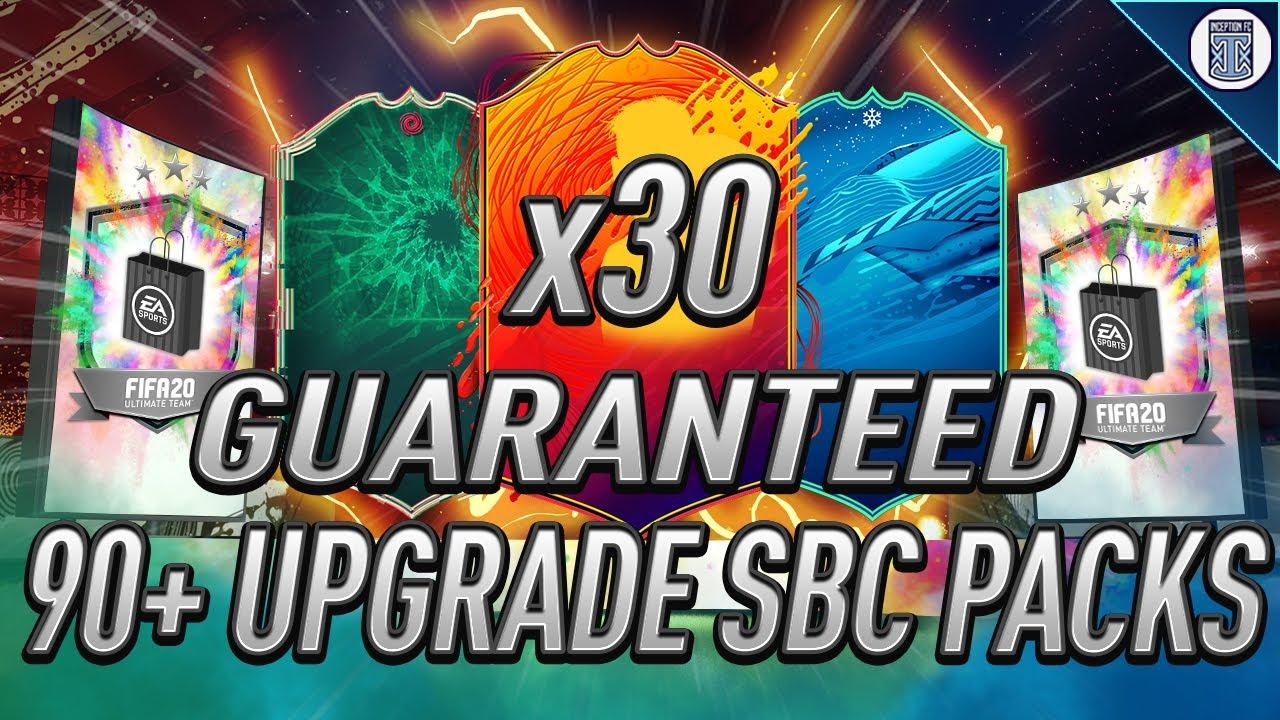 X30 GUARANTEED 90+ DOUBLE UPGRADE SBC! TOTY PACKED! - FIFA 20 ULTIMATE TEAM thumbnail