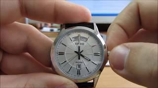 Đồng hồ nam Casio MTP 1381 [màu cát] Review - Đập hộ MTP-1381L-1AVDF Chính Hng