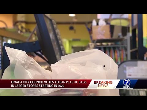 Omaha City Council votes to ban plastic bags
