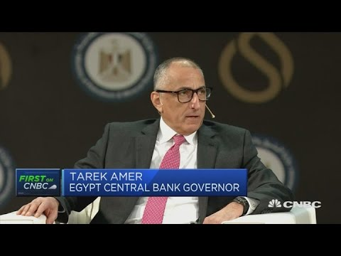 We have buffers to prevent more economic shocks, Egyptian central bank governor says