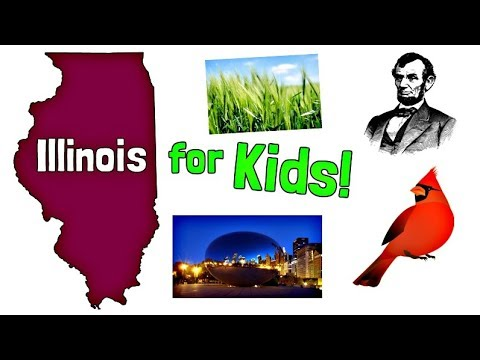 Illinois For Kids | US States Learning Video