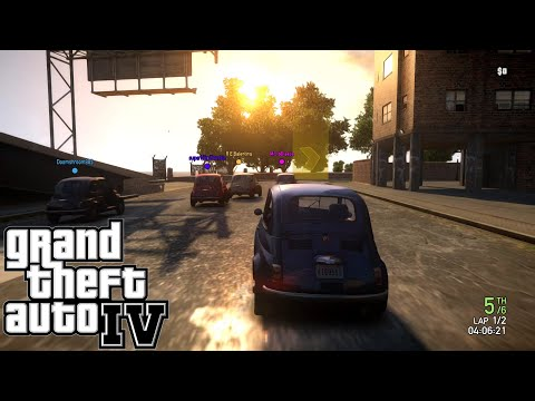 GTA IV | Modded Event | Custom Races/Busted/Mafia Hit/Stunts/Offroading