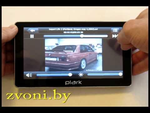 Видеообзор GPS-навигатора Plark PL-730