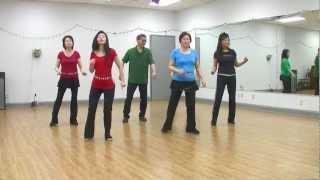 Olivia - Line Dance (Dance & Teach in English & 中文)