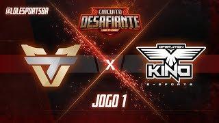 Circuitão 2018: Team One x Operation Kino (Jogo 1) | Fase de Pontos - 2ª Etapa