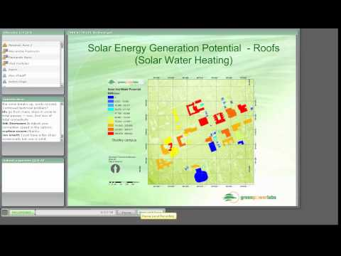 Solar Energy Assessment for Community Energy Planning